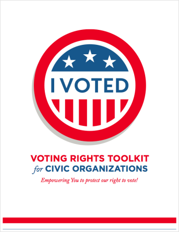 Voting Rights Toolkit for Civic Organizations