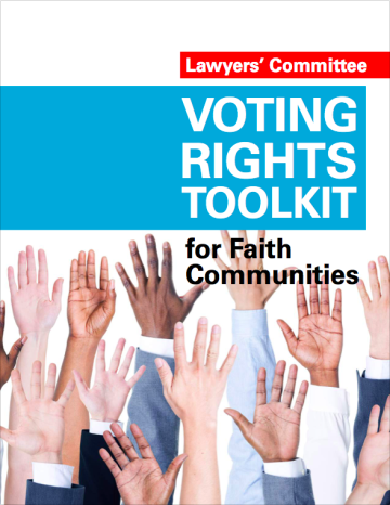 Voting Rights Toolkit for Faith Communities